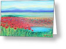 Peaceful Poppies Greeting Card