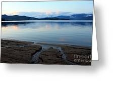 Peaceful Priest Lake Greeting Card