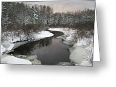 Peaceful River Greeting Card