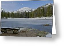 Peaceful Rocky Mountain National Park Greeting Card