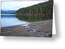 Peaceful Spring Lake Greeting Card