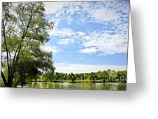 Peaceful View - Bradfield Park 18-37 Greeting Card