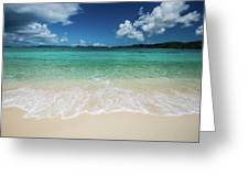 Peaceful Waves Greeting Card