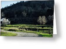 Peaceful West Virginia Valley Greeting Card