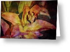 Peach And Yellow 2625 Idp_2 Greeting Card