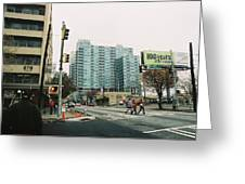 Peachtree And 7th St 2006 Winter Greeting Card by Jake Hartz