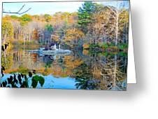 Peak Autumn Reflection 6 Greeting Card