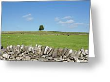 Peak District Landscape Greeting Card
