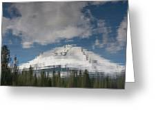 Peak Reflections Greeting Card