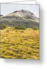 Peaks And Plateaus Greeting Card