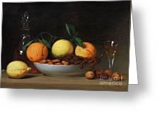 Peale Dessert 1814 Greeting Card by Granger