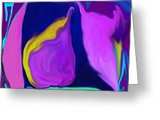Pear At Twilight Greeting Card