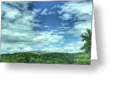 Pearisburg Virginia View Greeting Card