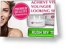 Pearl Essence Skin Cream Greeting Card