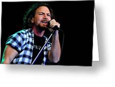 Pearl Jam Greeting Card