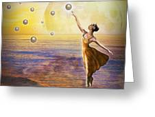 Pearls Of Heaven Greeting Card