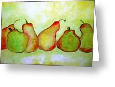 Pears - 2016 Greeting Card