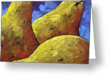 Pears For You Greeting Card