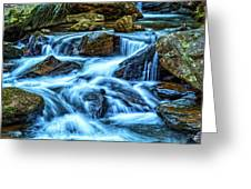 Pearsons Falls On Colt Creek Greeting Card