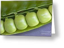 Peas In Pod Greeting Card
