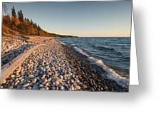 Pebble Beach Autumn    Greeting Card