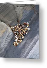Pebble Beach Rocks 8778 Greeting Card