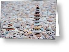 Pebble Stack II Greeting Card