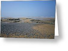 Pebble Strewn Beach Greeting Card