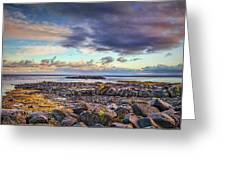 Pebbles And Sky  #h4 Greeting Card by Leif Sohlman
