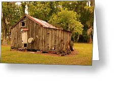 Cypress Shed Greeting Card