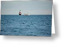 Peck Ledge Lighthouse Greeting Card
