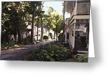 Peck Street Greeting Card