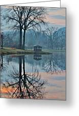 Pecks Pond Morning Greeting Card