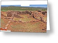 Pecos National Monument - 4 Greeting Card