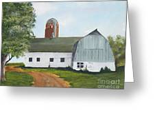 Pedersen Barn Greeting Card