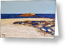 Pedersen Beach Lake Superior Greeting Card