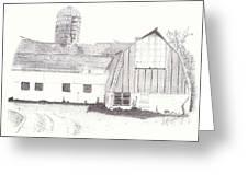 Pedersen Family Barn Greeting Card