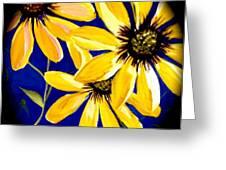 Peekaboo Sunflowers Greeting Card