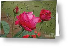 Peeling Rose Greeting Card