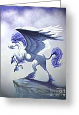Pegasus Unchained Greeting Card
