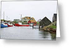Peggys Cove 6107 Greeting Card