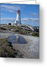 Peggys Cove Nova Scotia Canada Greeting Card