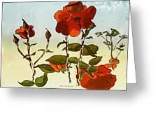 Peka Peka Roses Greeting Card