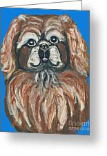 Peke For You Greeting Card