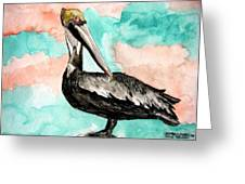 Pelican 3 Greeting Card