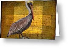 Pelican Poetry Greeting Card