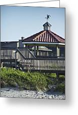 Pelican Weathervane Ocean Isle Norht Carolina Greeting Card
