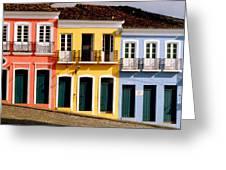 Pelourinho Greeting Card