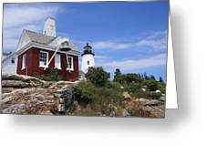 Pemaquid Lighthouse 2 Greeting Card
