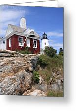 Pemaquid Lighthouse Greeting Card